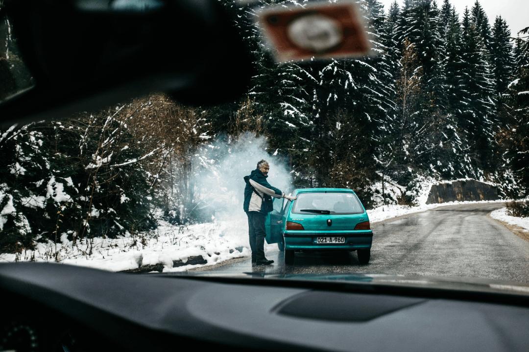 voiture en panne